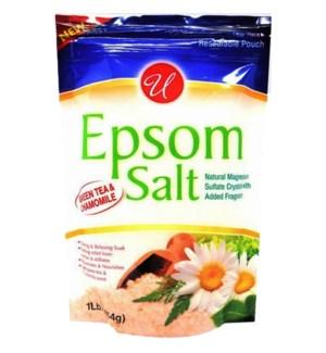 U #55807 EPSOM SALT GREEN TEA & CHAM