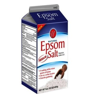 U #55808 EPSOM SALT REGULAR BOX