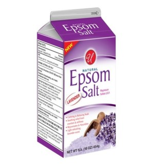 U #55809 EPSOM SALT LAVENDER BOX