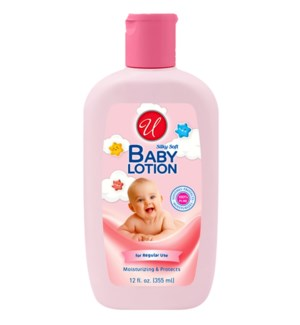 U #55923 BABY LOTION/ORIGINAL (PINK)