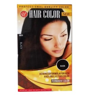 U #72003 BLACK HAIR COLOR