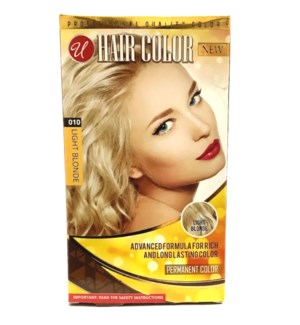 U #72006 L.BLONDE HAIR COLOR
