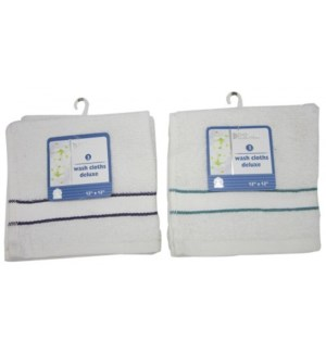 WASH CLOTH #PA76548 DELUXE 12X12
