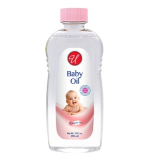 U #80008 BABY OIL REGULAR /PINK