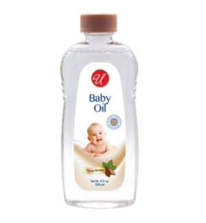 U #IN80010 BABY OIL COCOA BUTTER
