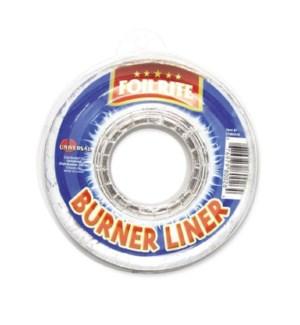 FOILRITE #80026 FOIL ROUND GAS LINER