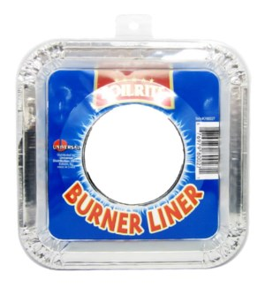 FOILRITE #CH80027 FOIL SQ GAS LINER