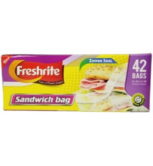 U #80162 SANDWICH ZIPPER BAG