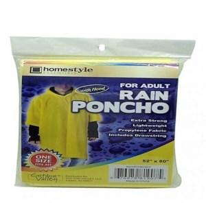 CH81907 ADULT RAIN PONCHO