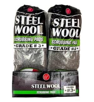U #82048 STEEL WOOL GRADE-3 COARSE