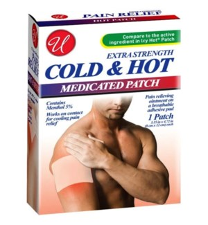 U #82633 COLD & HOT PAIN REL PATCHES