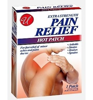 U #82634 PAIN REL HOT PATCHES
