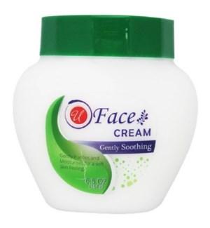 U #82656 FACE CREAM, GENTAL SOOTHING