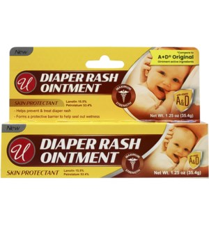 U #82700 DIAPER RASH OINTMENT