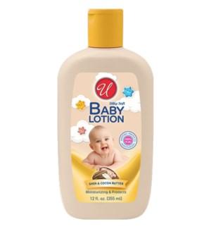 U #82705 BABY LOTION, SHEA & COCOA BUTTER