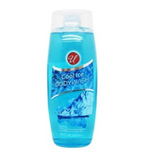 U #83006 COOL ICE BODY WASH