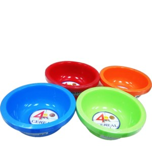 CEREAL BOWL #IN85147 ASST