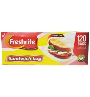 U #85597 SANDWICH FOLD TOP BAG