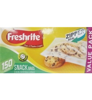 U #85610 SNACK BAGS ZIPPER SEAL