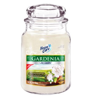 U #IN86031 JAR CANDLE/GARDENIA
