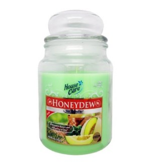 U #IN86038 JAR CANDLE/HONEYDEW