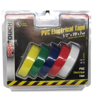 5PC ELECTRICAL TAPE #CH89098 ASST