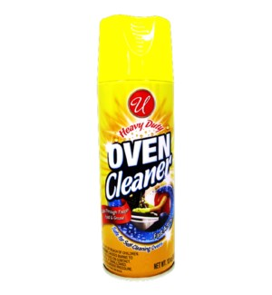 U #90207 OVEN CLEANER/YELLOW