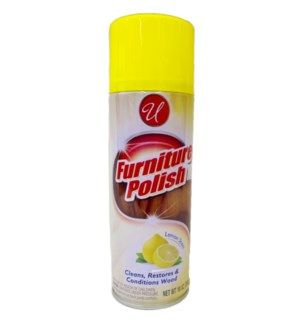U #90215 FURNITURE POLISH/LEMON