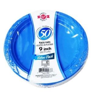 U #CN90277 PLASTIC PLATE, BLUE