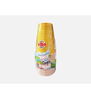 U #CN90362 12OZ PLASTIC CUP/YELLOW
