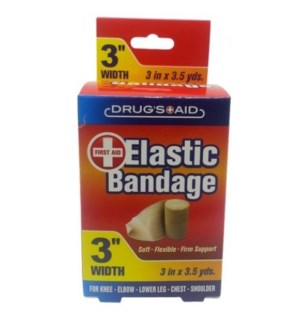 "ELASTIC BANDAGE #CH91035 3"""