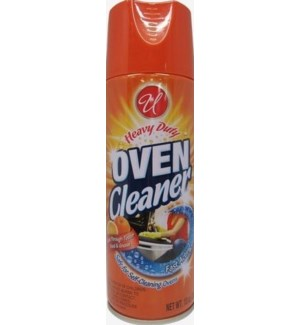 U #CN91092 OVEN CLEANER/ORANGE