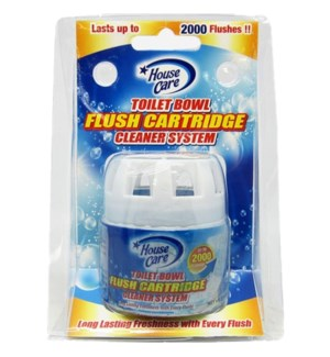 U #91121 TOILET BOWL FLUSH CARTRIDGES CLEANER