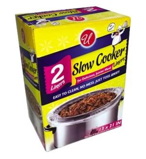 U #CN92119 SLOW COOKER LINERS