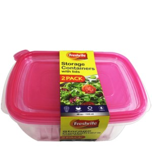 FOOD CONTAINER #CH93542 REGTANGULAR