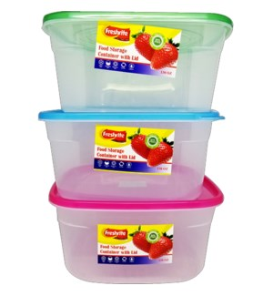 FOOD CONTAINER #CH93544 SQUARE