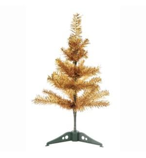 CH-MAS #XO274 X'MAS TREE/GOLD