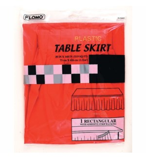TABLE SKIRT #TK502 PLASTIC
