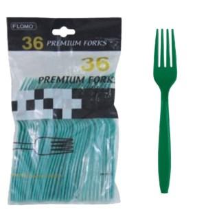FLOMO PF610 FORKS-GREEN