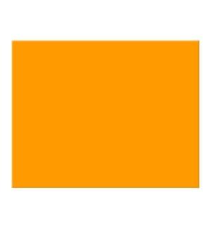 FLUORESCENT POSTER BOARD/ORANGE NEON     Z 5032