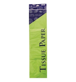 TISSUE PAPER #TS1519L LIME GREEN