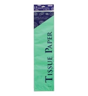 TISSUE PAPER #TS1509L LT GREEN