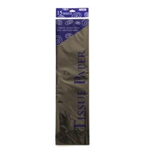 TISSUE PAPER #TS1515L BLACK