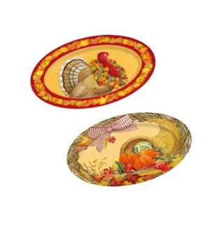 TH'GIVING #PWV602 OVAL SERVING TRAY