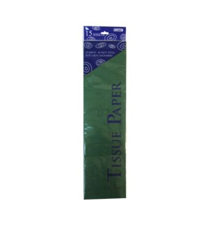 TISSUE PAPER #TS1510L GREEN