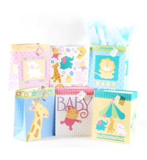 GIFT BAG #BY81M BABY SHOWER/ASST