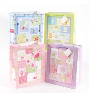 GIFT BAG #BY82M BABY SHOWER/ASST