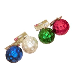 CH-MAS #HO1228 ORNAMENT BALL/GLITTER
