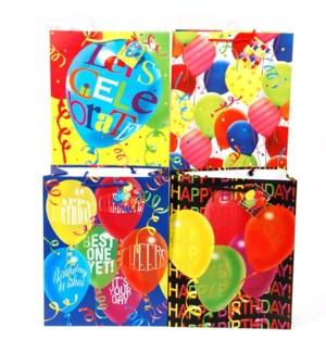 GIFT BAG #BB441M BIRTHDAY/ASST