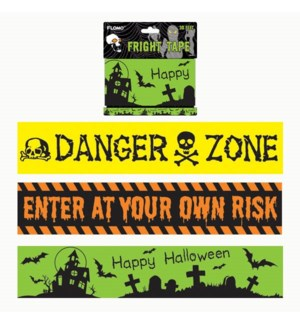 HW #HW443 FRIGHT TAPE - 30FT
